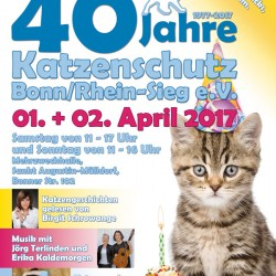 Jubiläumsfest: Das Programm am 1. und 2. April 2017