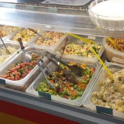 Unsere neue Salatbar.