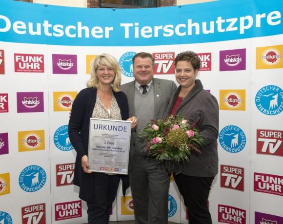 Verleihung Deutscher Tierschutzpreis Katzenschutz