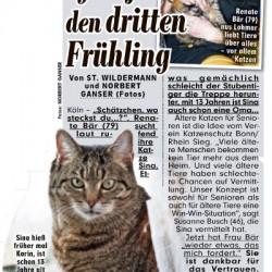 """Projekt """"Senioren für Senioren"""" in der BILD-Zeitung"""