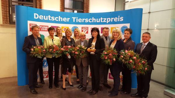 Preisverleihung Deutscher Tierschutzpreis 2016