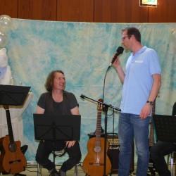 Musik mit Erika Kaldemorgen und Jörg Terlinden.