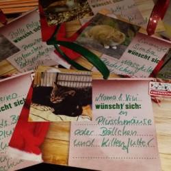Weihnachtswunschkarten