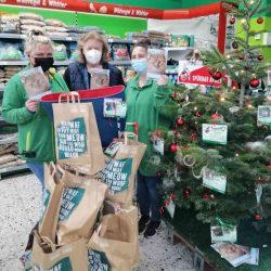 Unsere Weihnachtswunschbäume in den Fressnapf-Filialen – Wir sagen Danke!