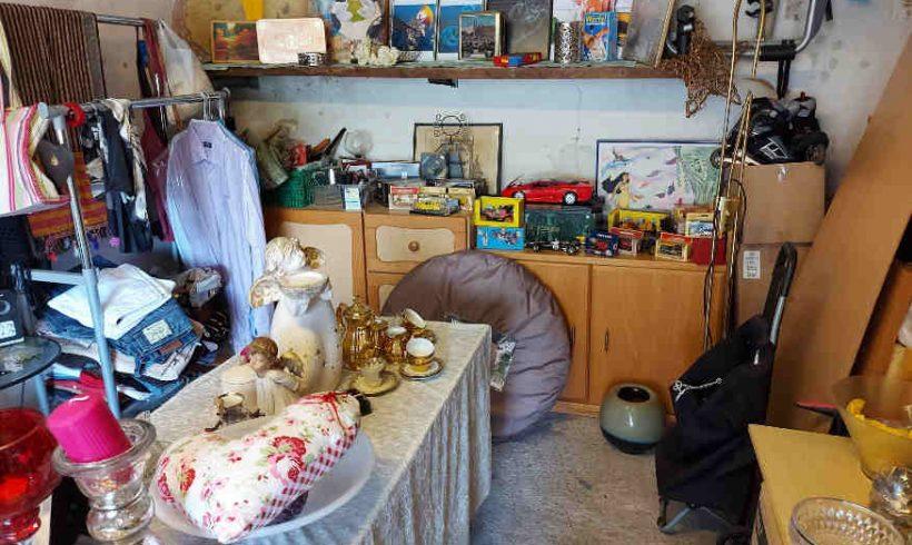 Erneute Spende aus Garagenflohmarkt